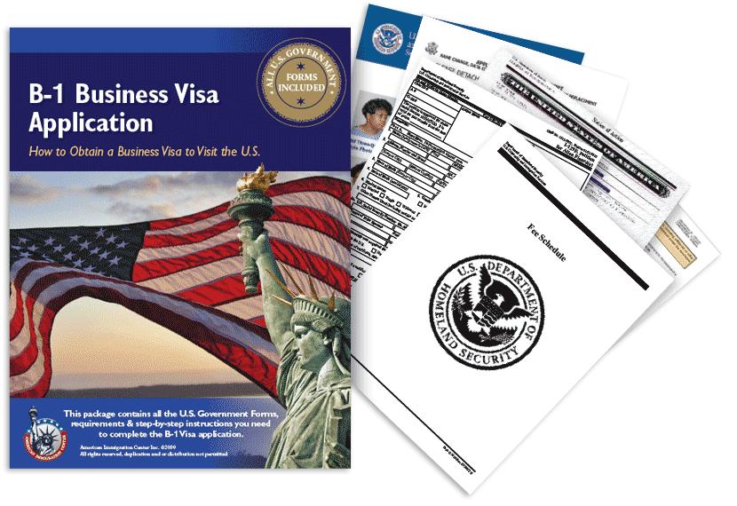 B-1 Business Visa Application Guide Package