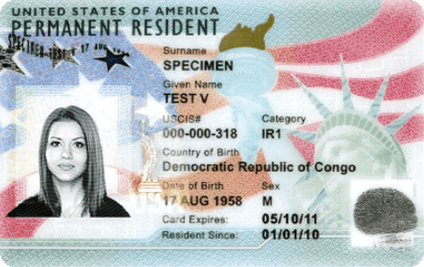 Lost or Stolen Green Card Renewal Application