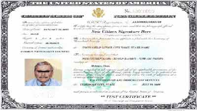 Form N-565 - Application for Replacement of Naturalization/Citizenship Certificate